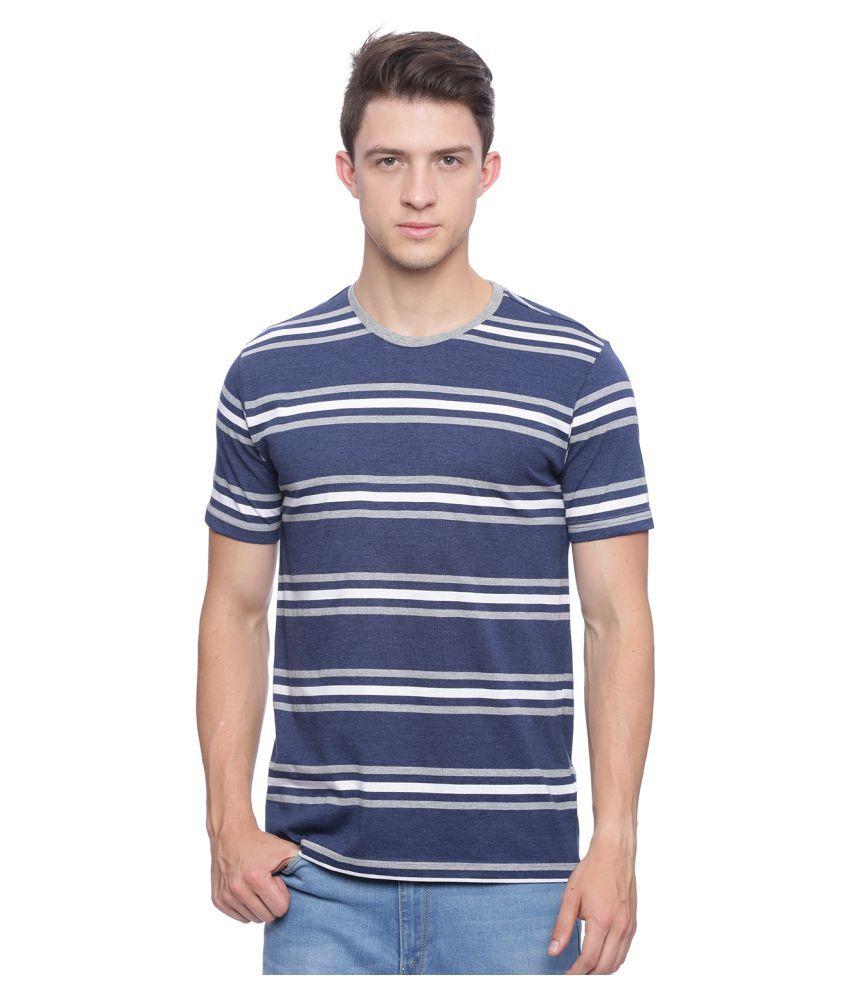 Deezeno Navy Round T-Shirt