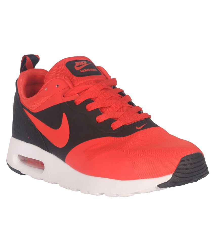 nike air max tavas red running shoes buy nike air max. Black Bedroom Furniture Sets. Home Design Ideas