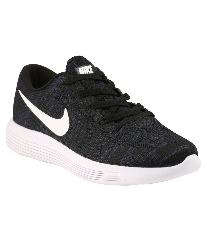 wholesale dealer d624c b7f4d Nike Lunar Epic Flyknit Black Running Shoes