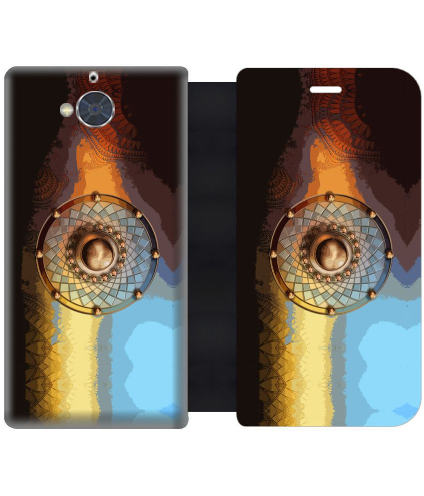 Gionee S6 Pro Flip Cover by Skintice - Multi