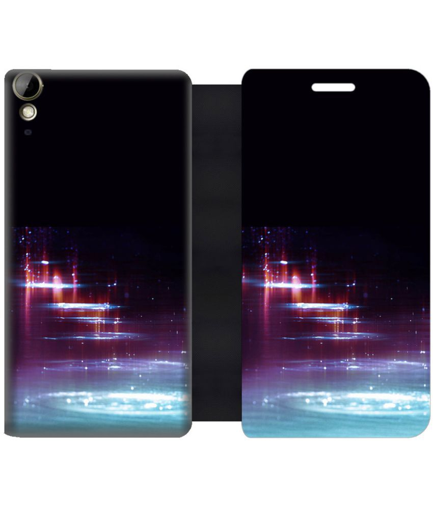 HTC Desire 10 Lifestyle Flip Cover by Skintice - Multi