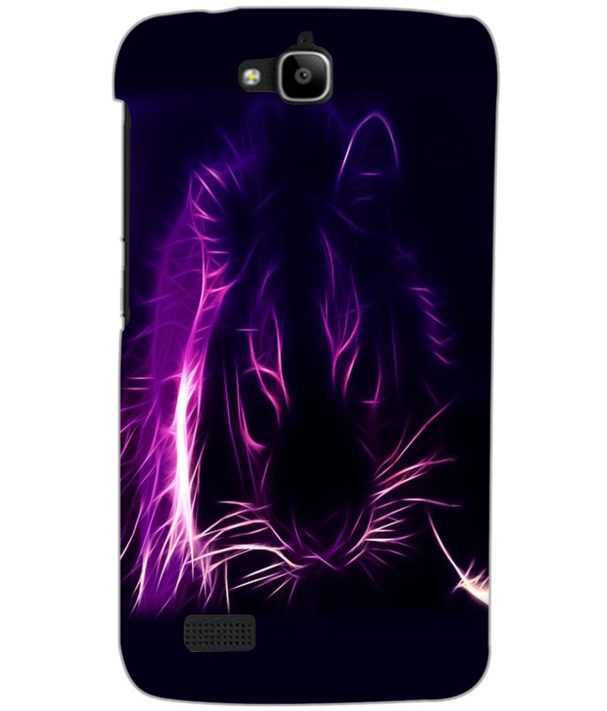 Huawei Honor Holly Printed Cover By PRINTSWAG