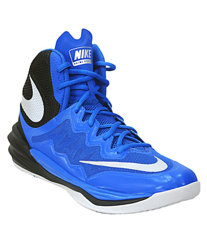 the latest 9dcec 37ddd Nike Prime Hype DF 2 Blue Basketball Shoes