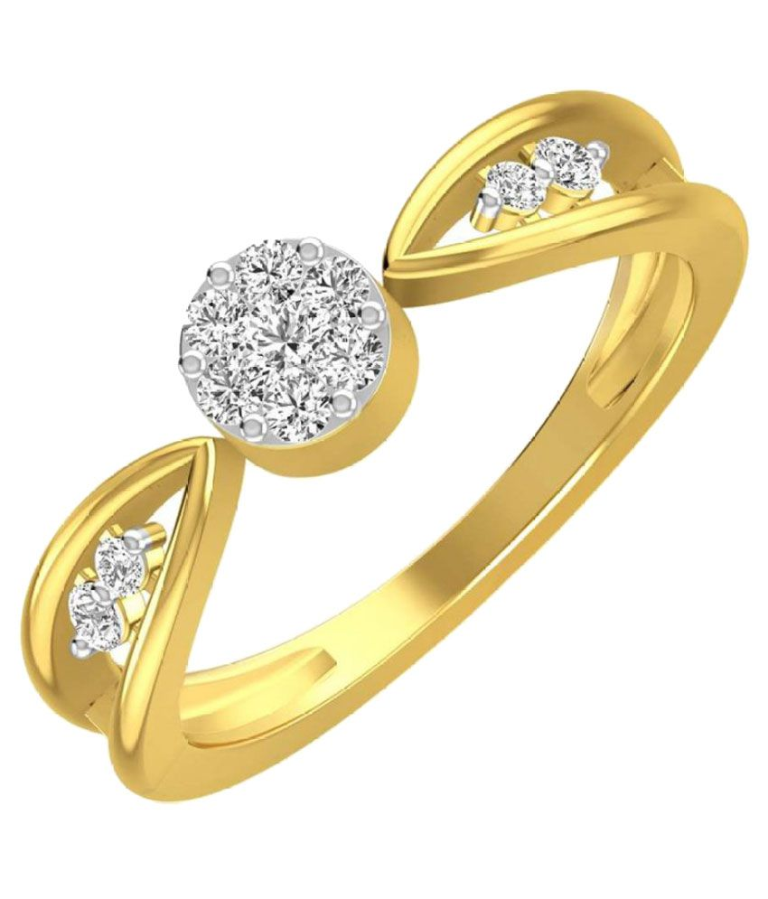Rockrush 18k Yellow Gold Ring