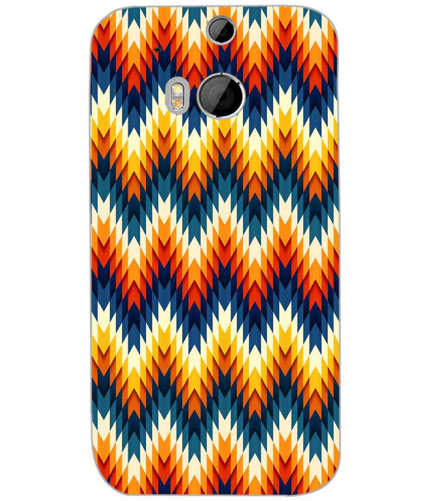 HTC One M8 Printed Cover By PRINTSWAG