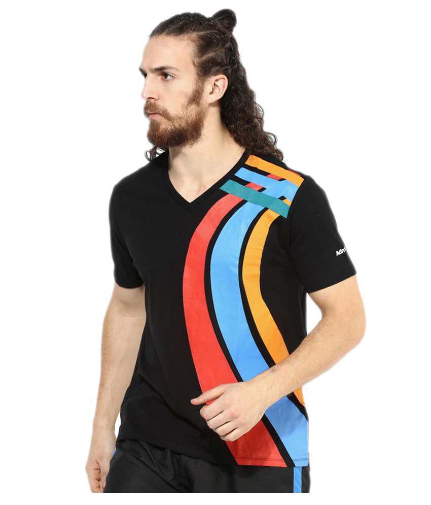 Admiral Black Cotton T-Shirt