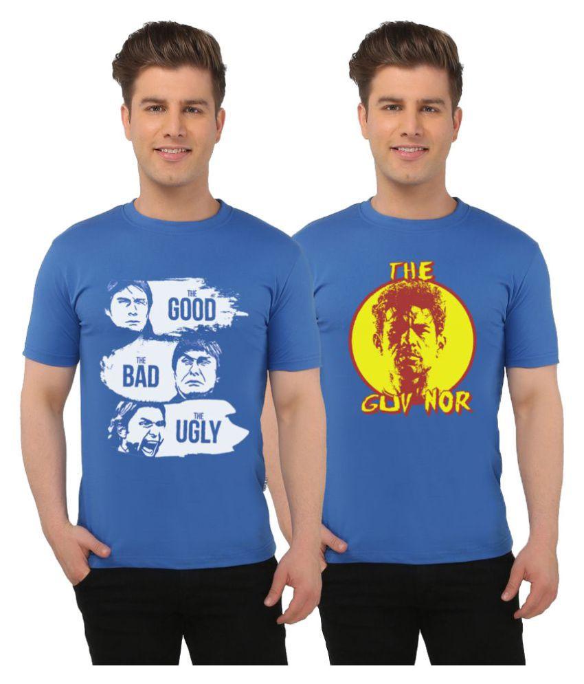 Eetee Multi Round T-Shirt Pack of 2