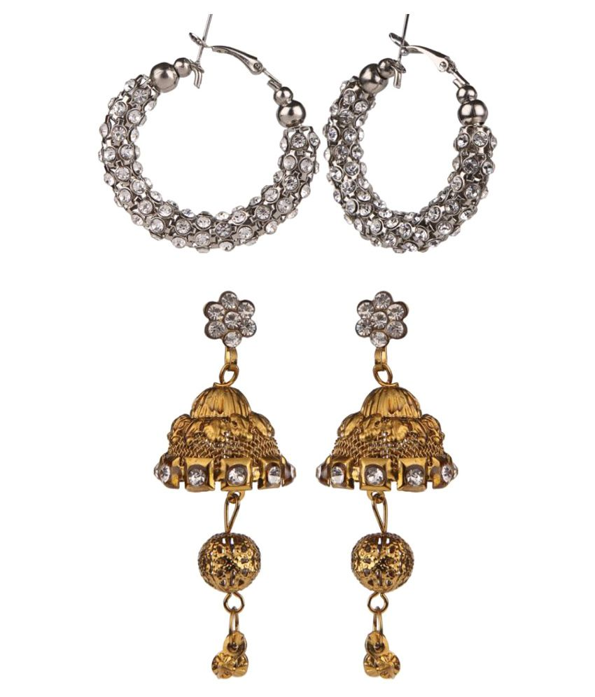 Archi Collection Traditional Designer Earring Combo for Girls and Women
