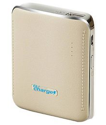 Fitcharge SS 6000 -mAh Li-Ion Power Bank White