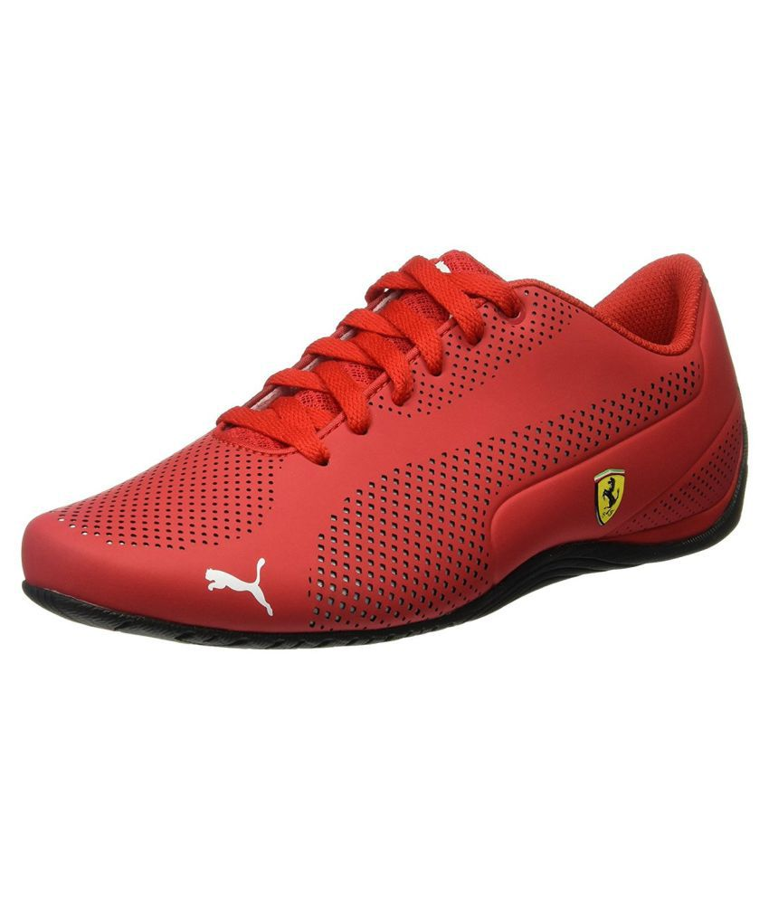 Puma Ferrari Red Casual Shoes - Buy Puma Ferrari Red ...