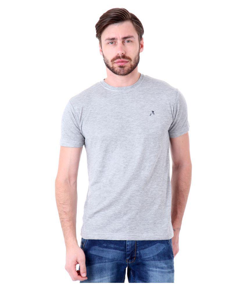 Roman Island Grey Round T-Shirt