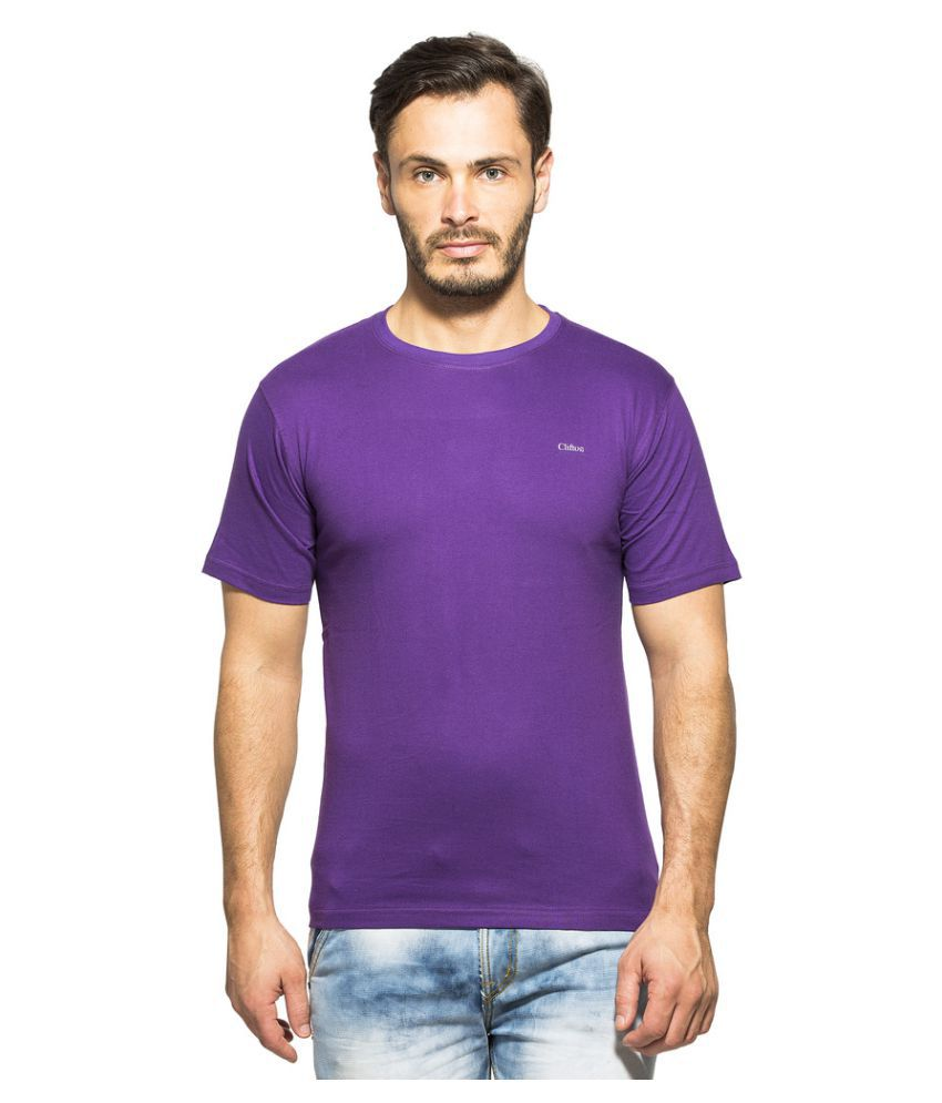 Clifton Purple Round T-Shirt