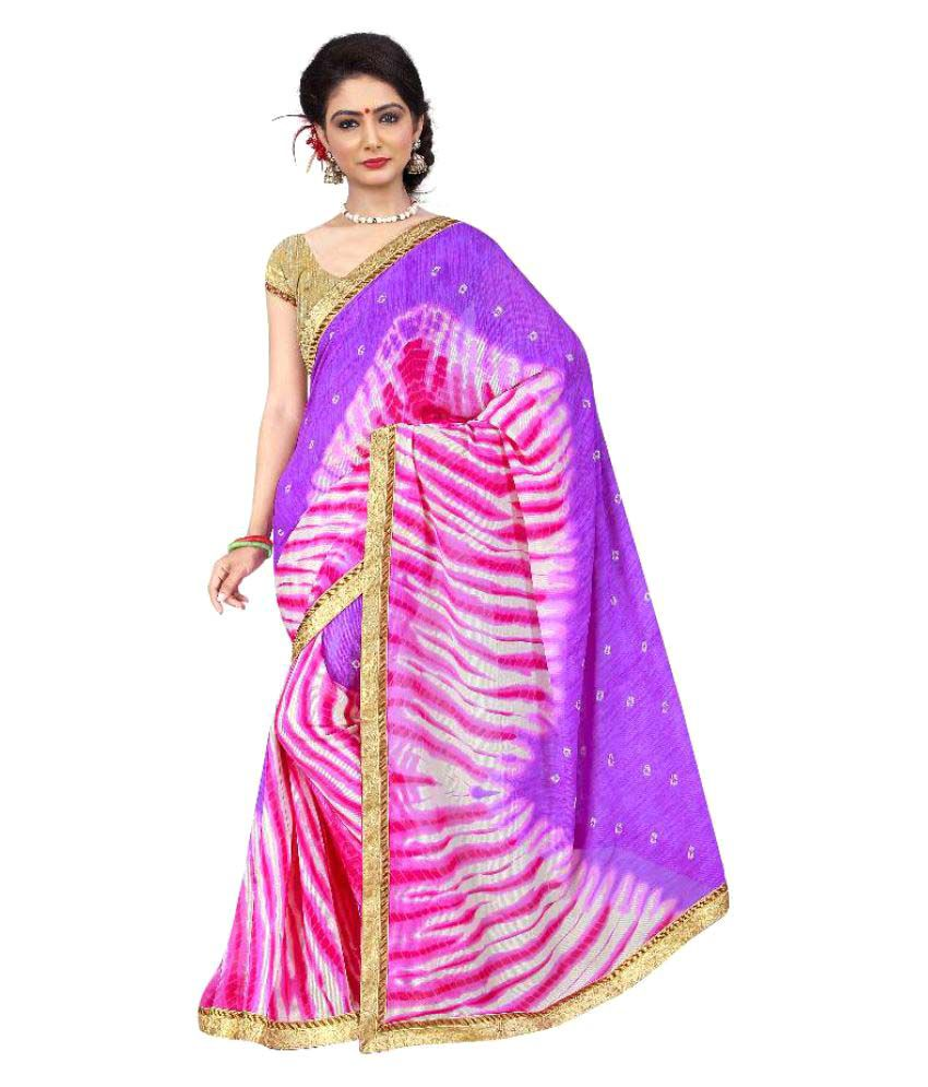 Kalashreefashion Multicoloured Georgette Saree