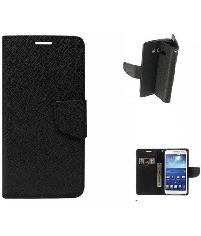 online retailer 477b9 b8472 Vivo Y55 Flip Cover by Cel - Black