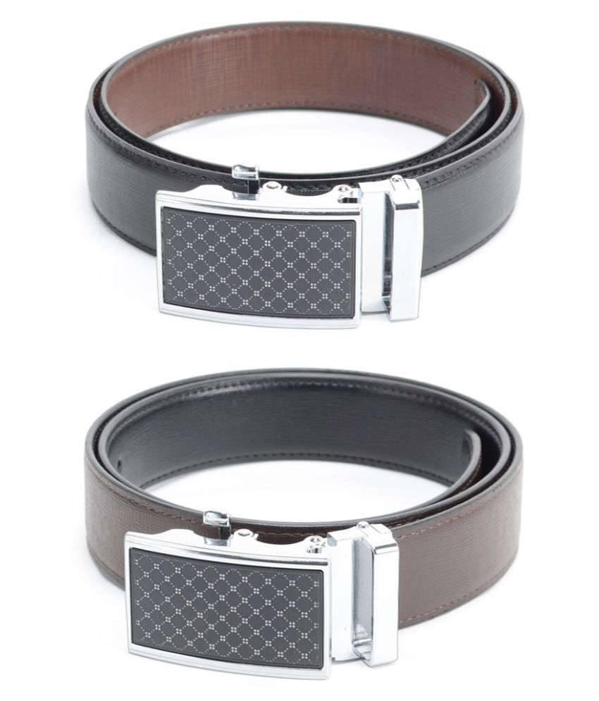 Calvadoss Black PU Party Belts