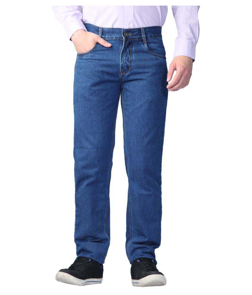 Sparky Blue Regular Fit Jeans