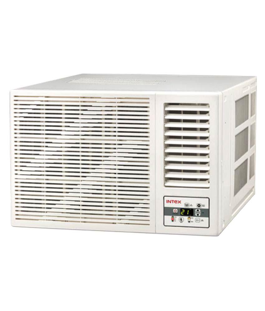 Intex 1 5 ton 3 star wa18cu3ed window air conditioner for Window 0 5 ton ac