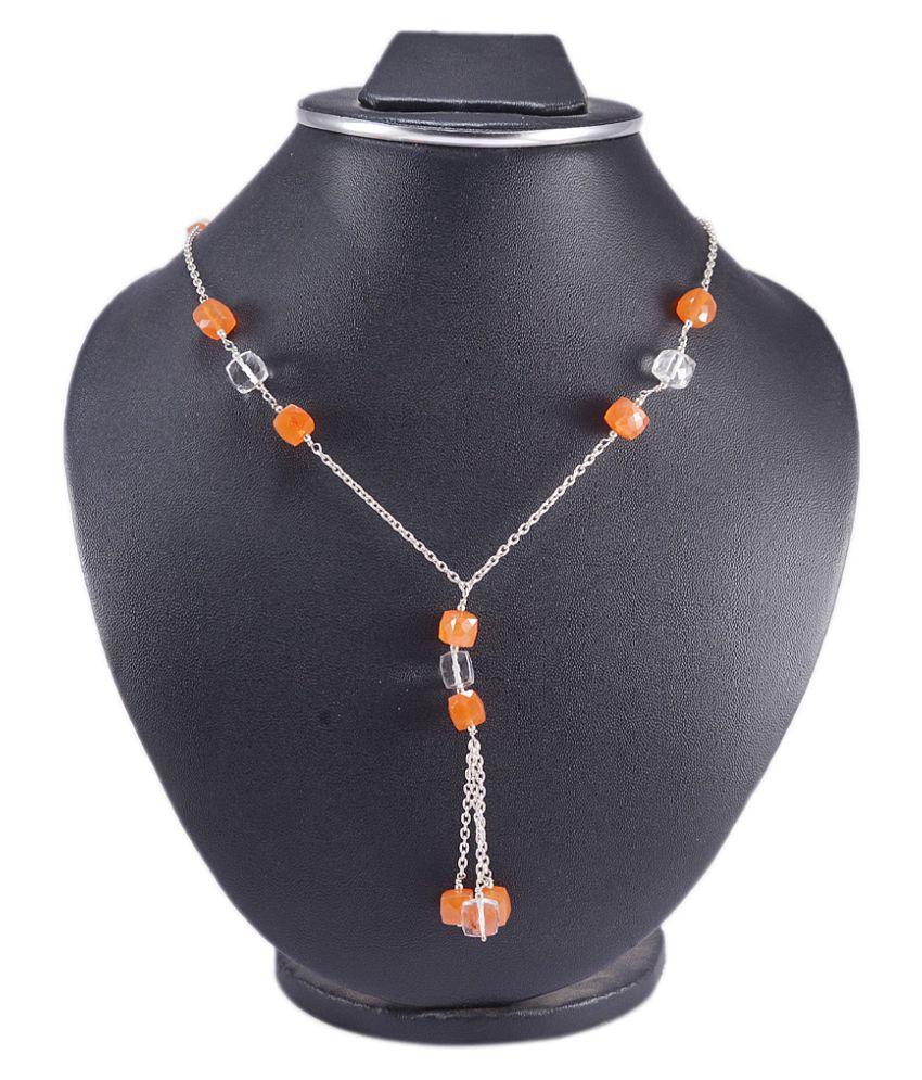 Silvesto India 92.5 Silver Necklace