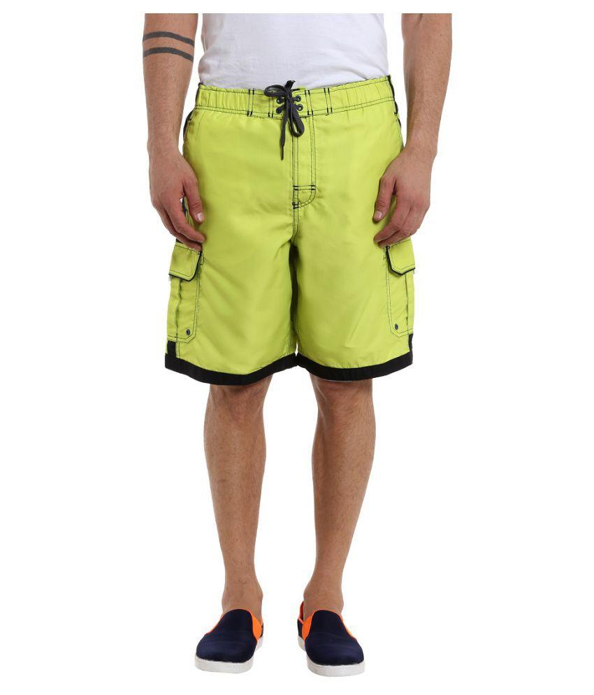 Fast n Fashion Yellow Shorts