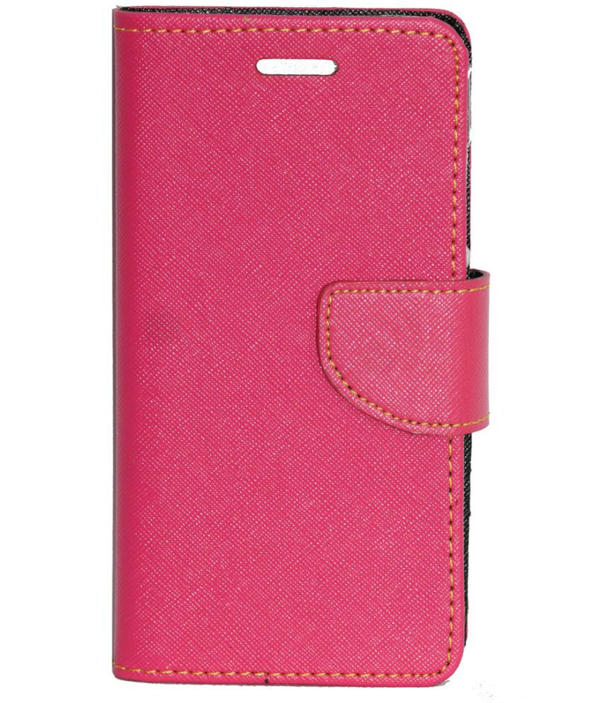 new style 66194 56fd4 Xiaomi Redmi 4A Flip Cover by Gizmofreaks - Pink