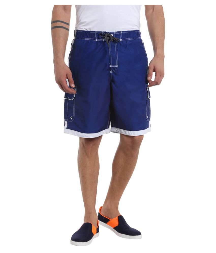 Fast n Fashion Blue Shorts