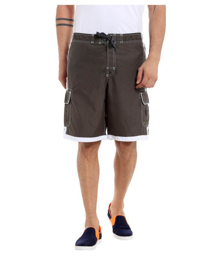 Fast n Fashion Brown Shorts