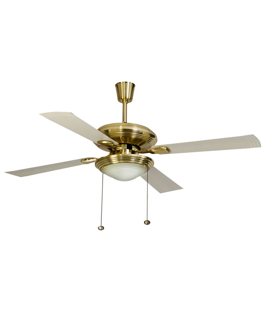 Usha 1270 Mm Fontana One Ceiling Fan Gold Price In India Buy Usha 1270 Mm Fontana One Ceiling