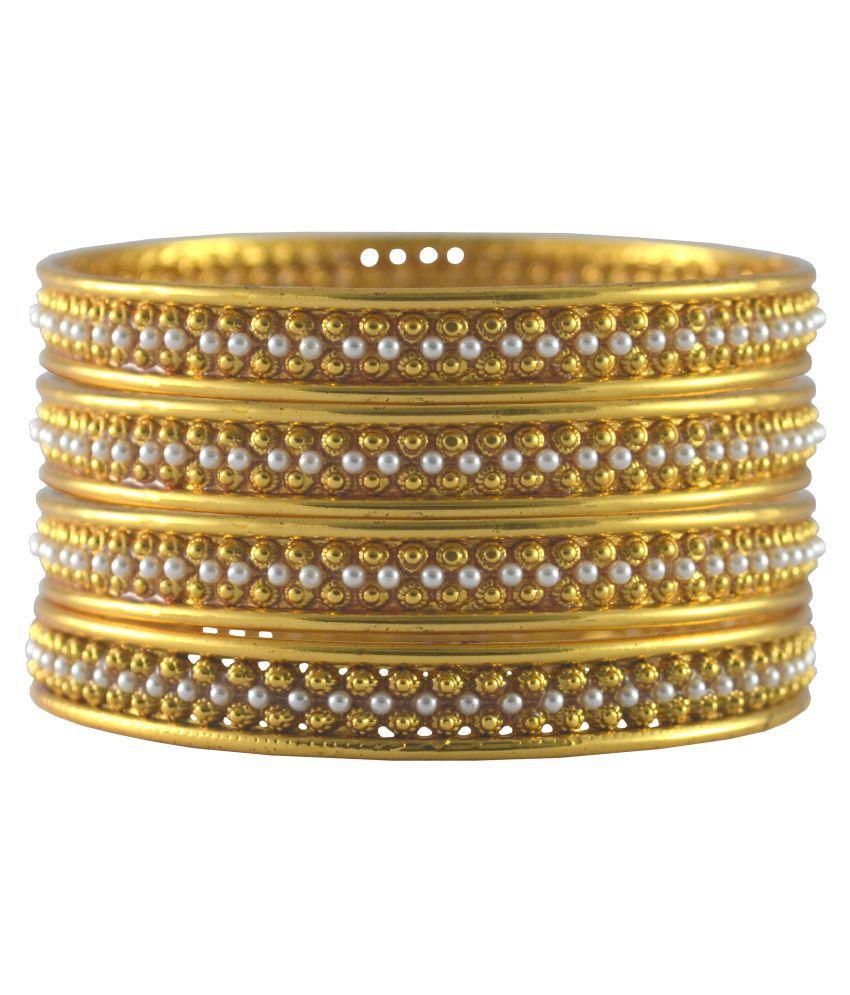 Rejewel Golden Bangle