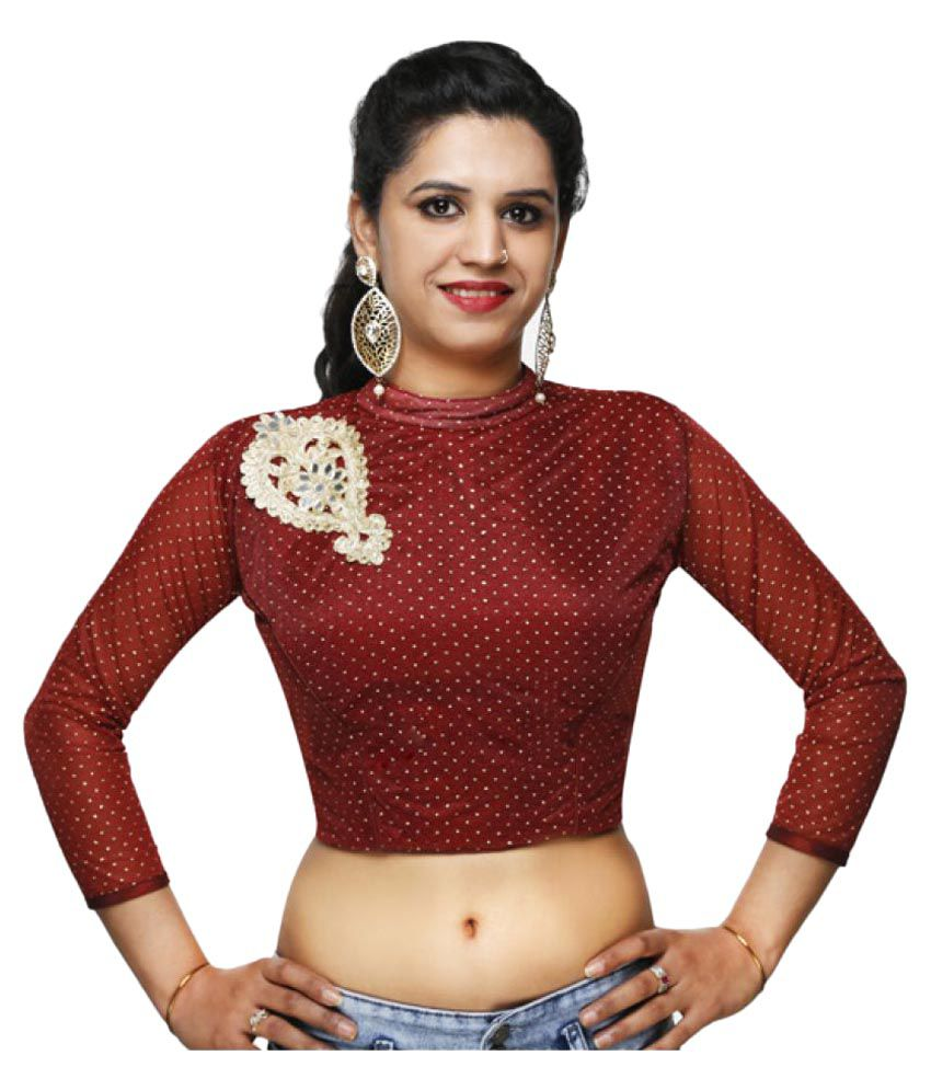 Lady in Style Maroon Blouse
