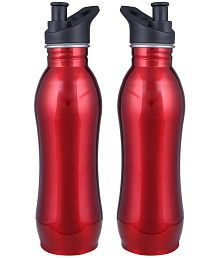 Meenamart Cool Red 500 Ml School Bottle Set Of 2