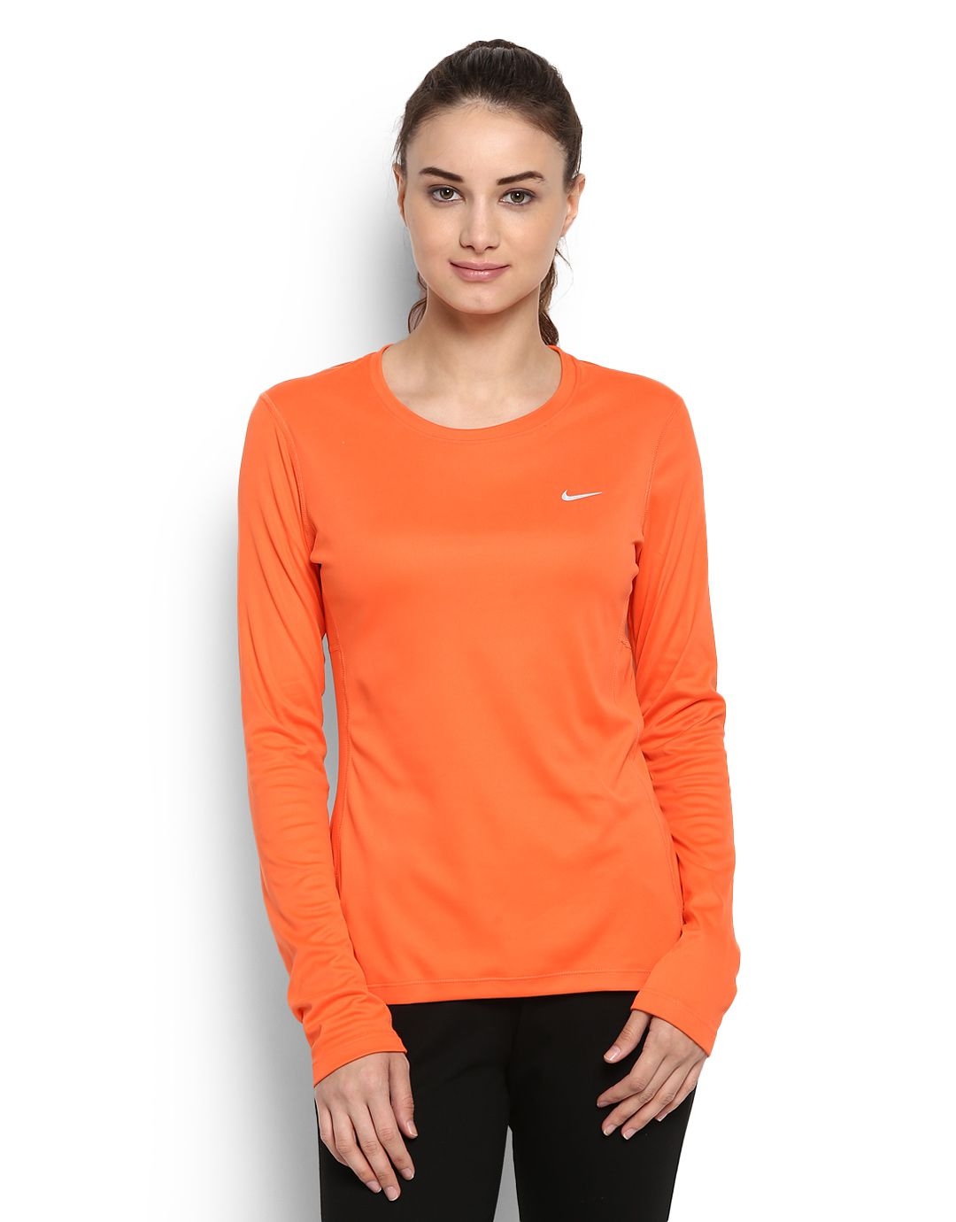 Nike orange tops snapdeal price t shirts deals at for Nike t shirt price