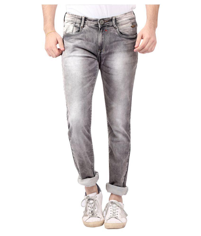 Nostrum Jeans Grey Slim Jeans