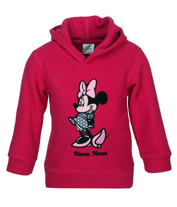 Fox Pink Sweatshirt for Girls