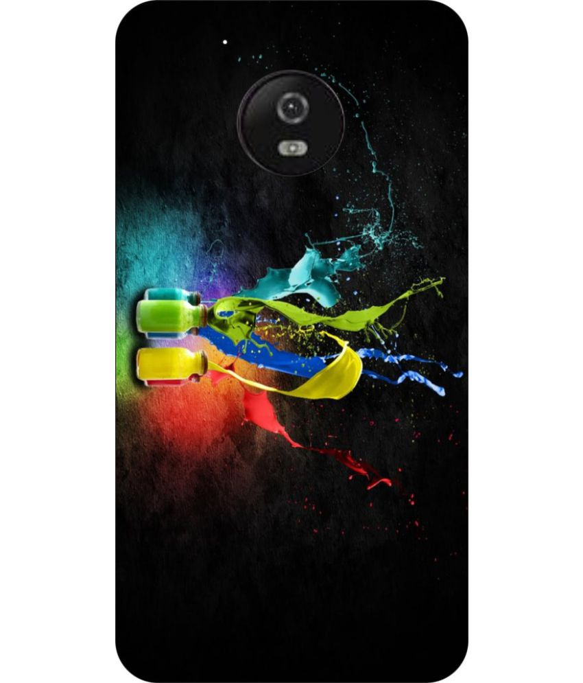 Moto G5 Printed Cover By Go Hooked