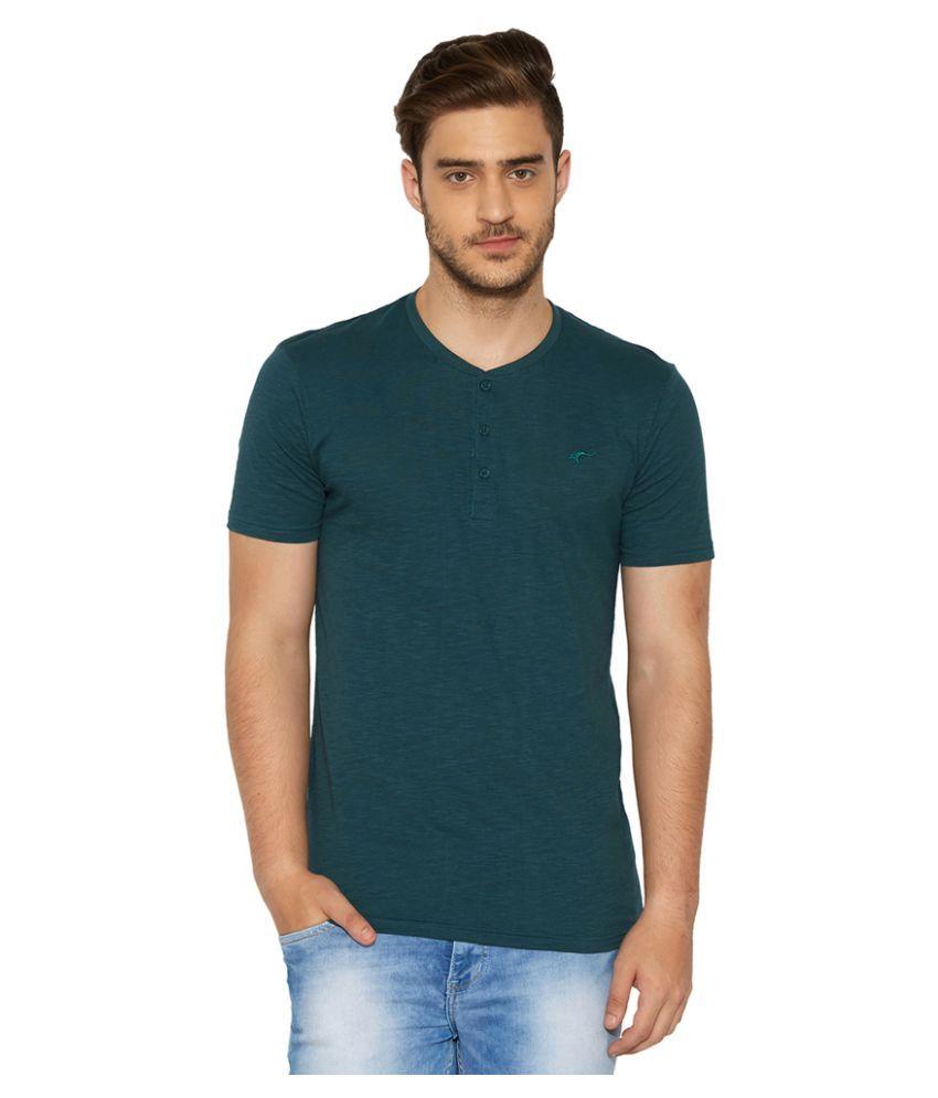 Globus Green Henley T-Shirt