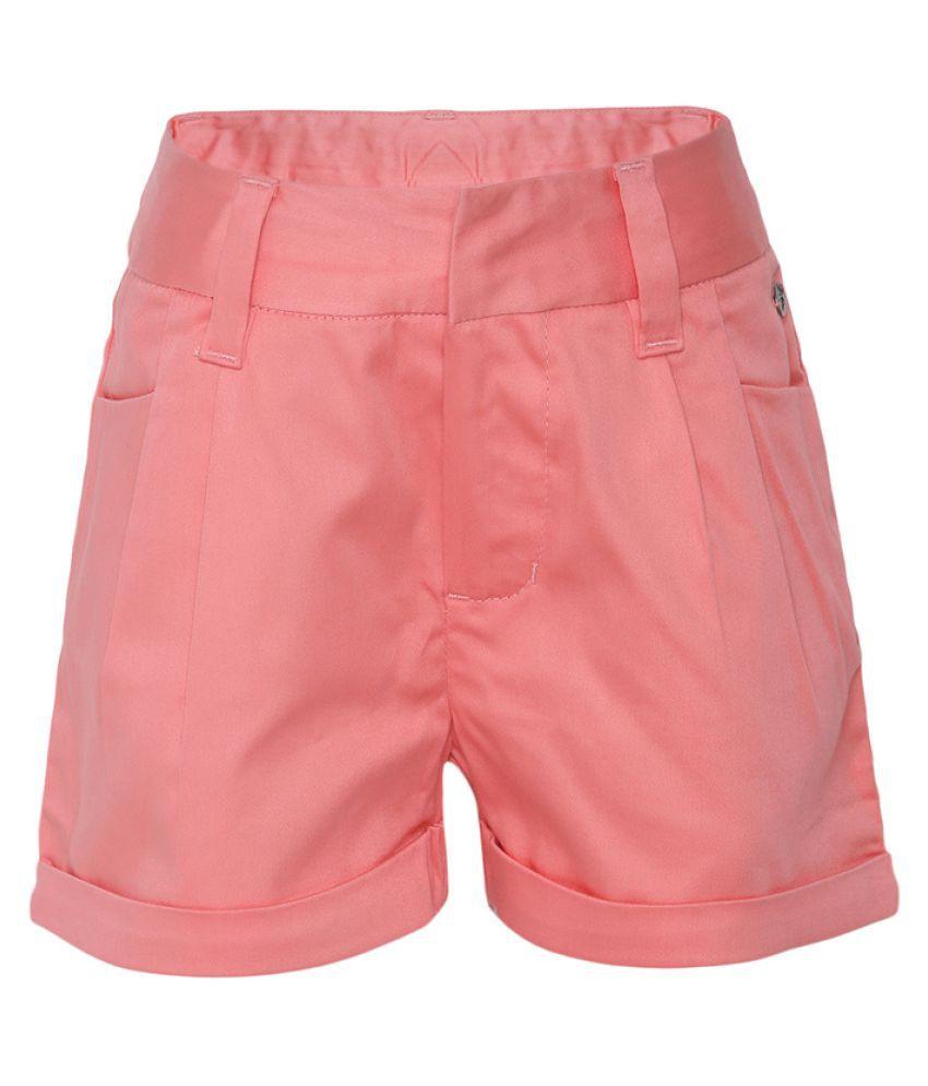 FS MiniKlub Pink Cotton Shorts Hot Pants