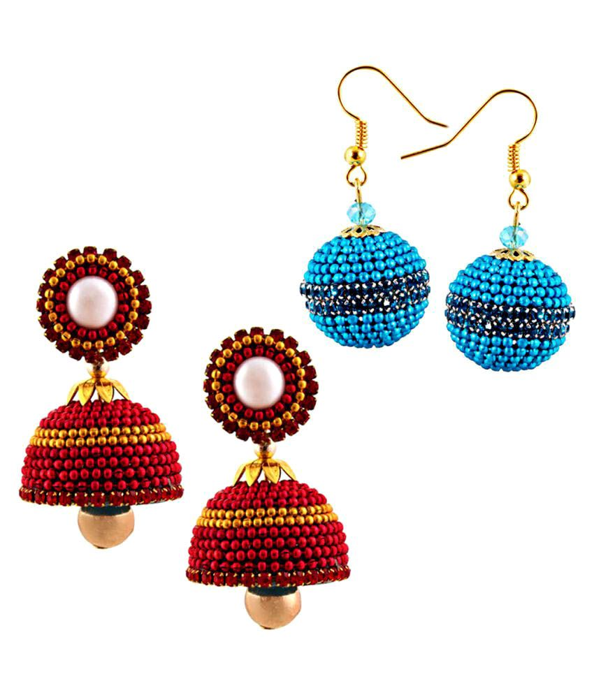 Halowishes Multicolour Earrings Combo