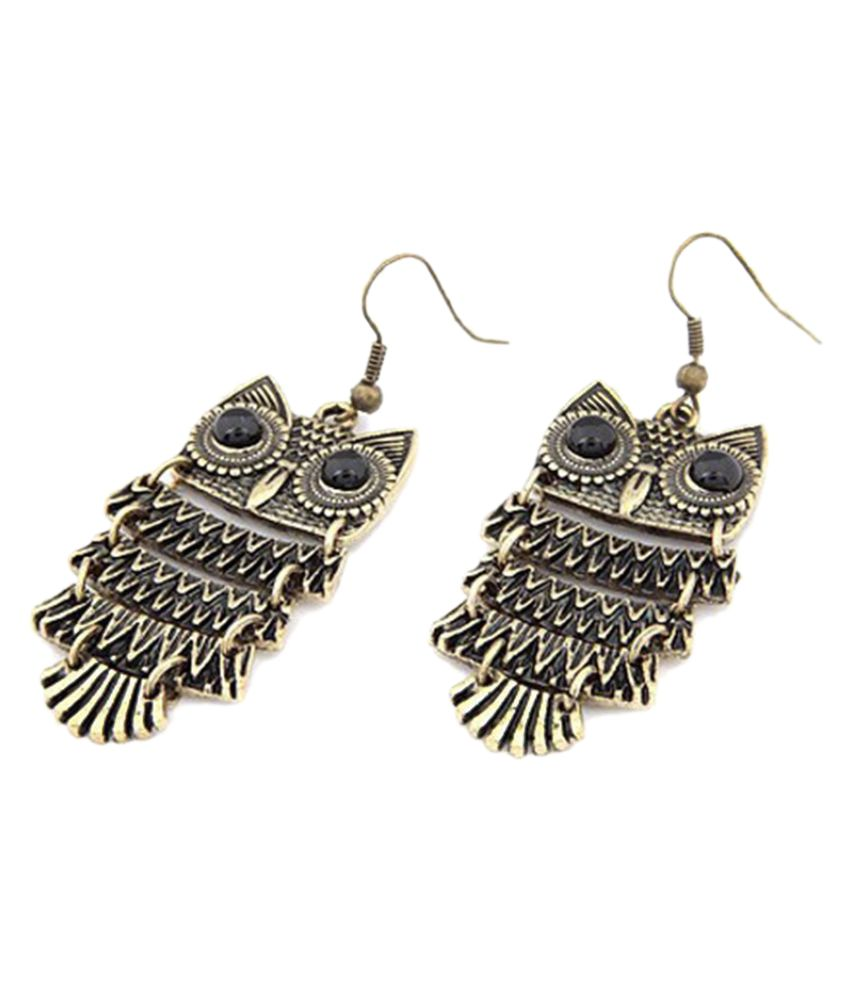LG Enterprises Owl Hanging Earrings