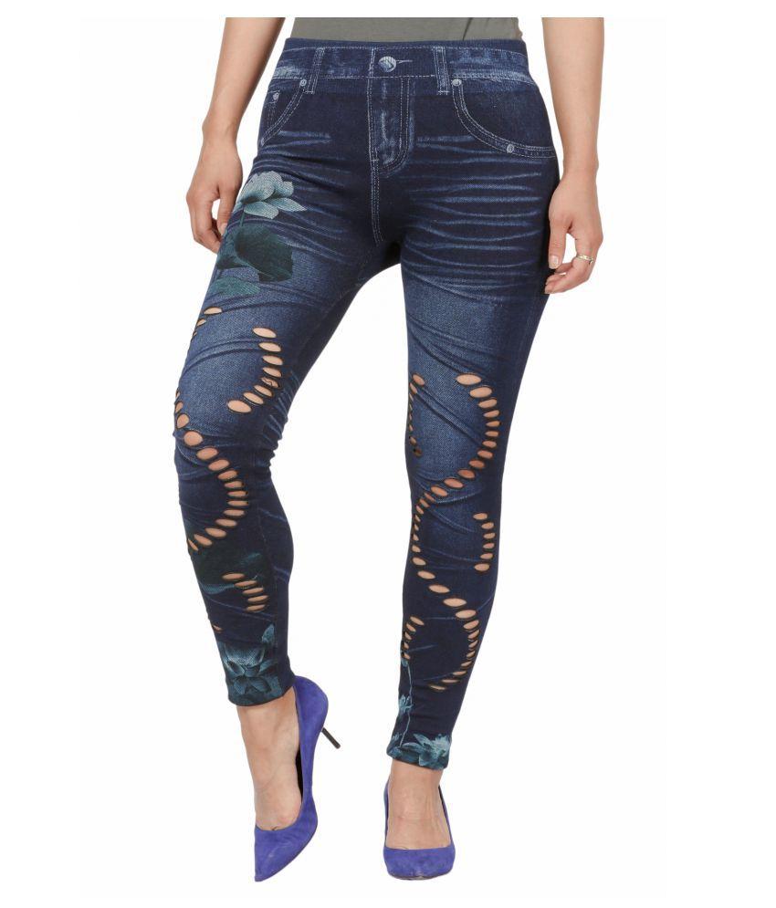 Fit 'N' You Cotton Jeans - Blue