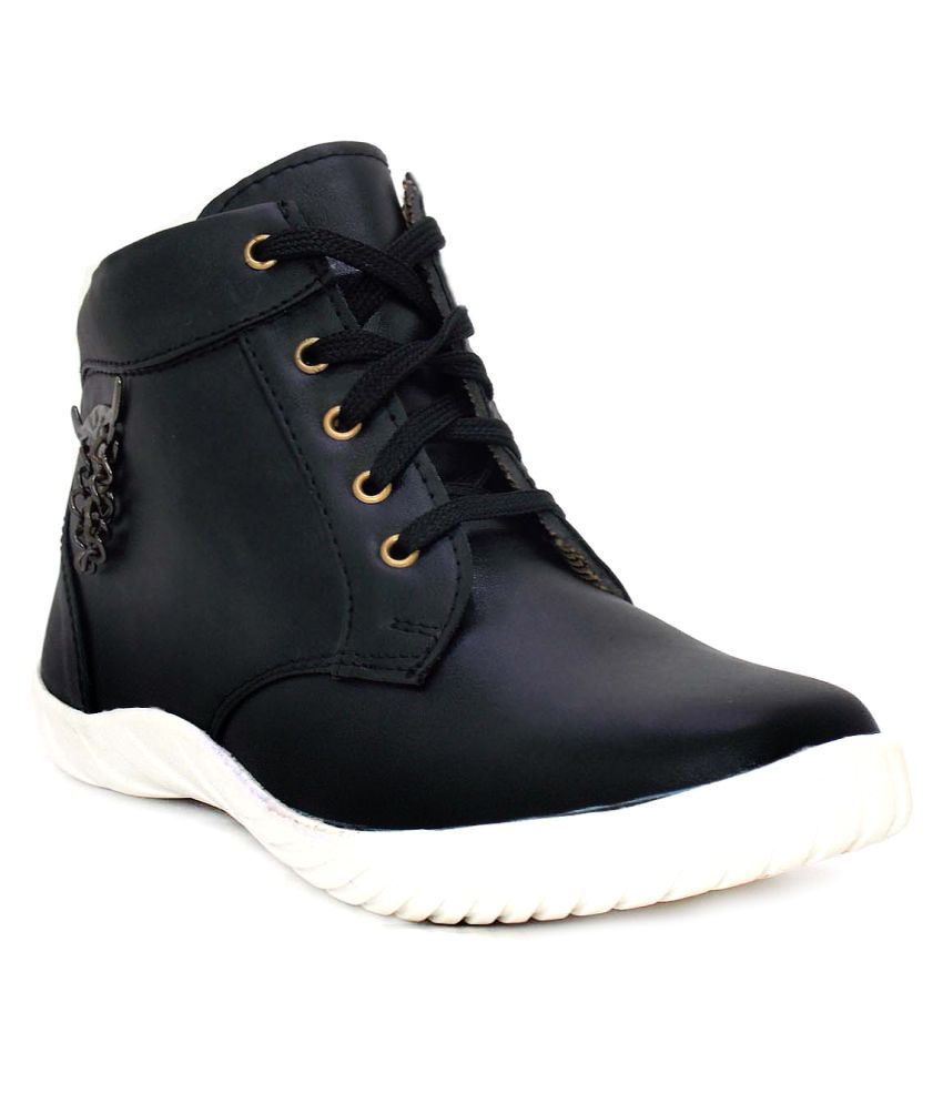 Lifestyle Black Casual Shoes