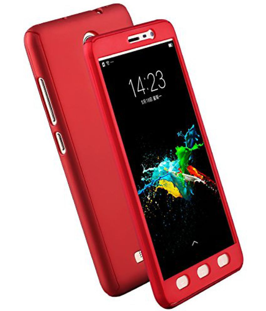 new products 8d610 8df84 Oppo F1s Plain Cases Doyen Creations - Red