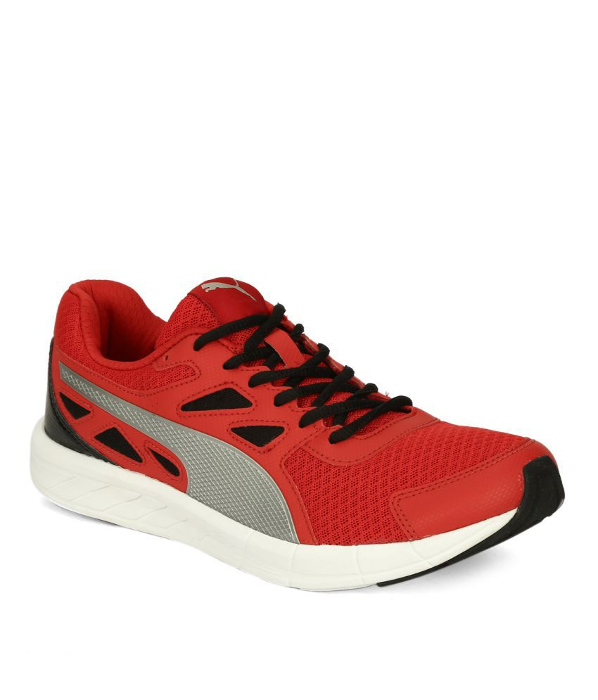 83b5c6ce849 Puma Red Running Shoes - Buy Puma Red Running Shoes Online at Best Prices  in India on Snapdeal