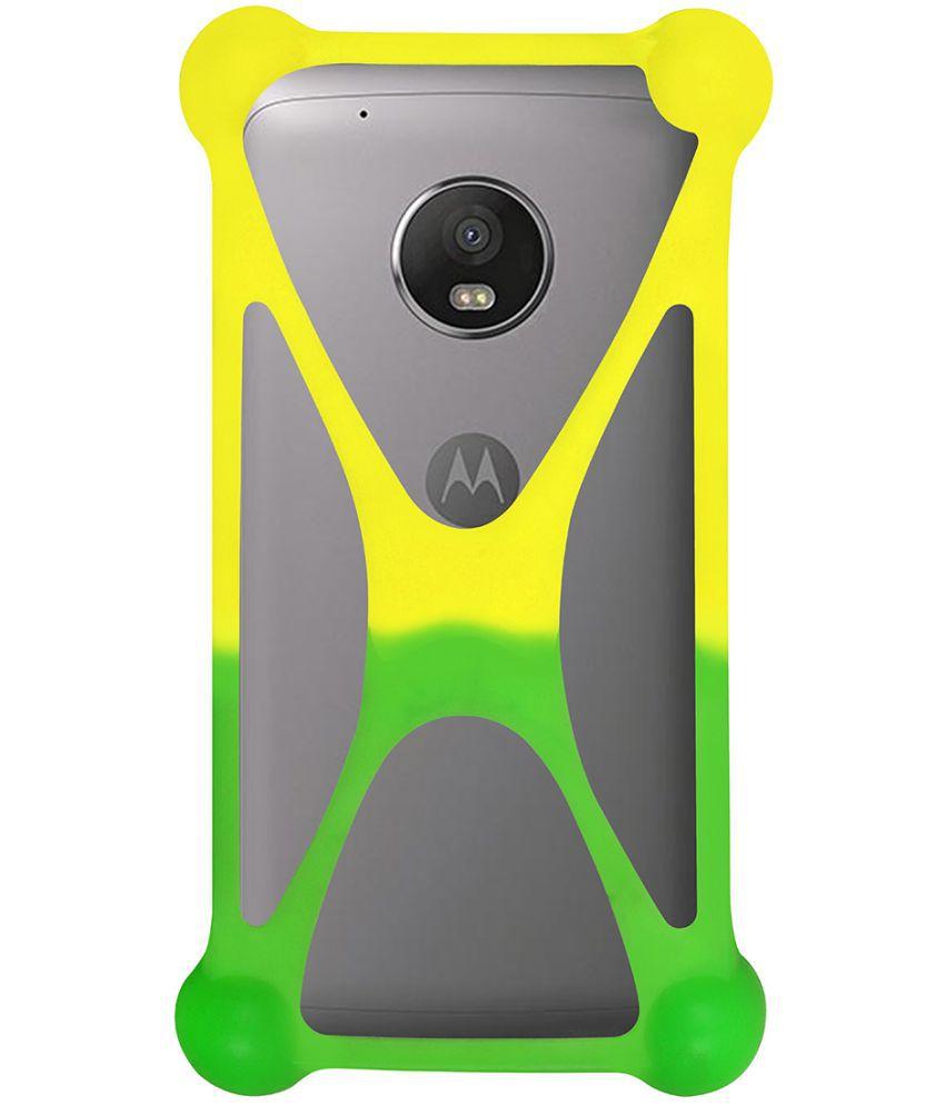 new product 3f6b8 3546b Moto G5 Plus Bumper Cases Casotec - Multi
