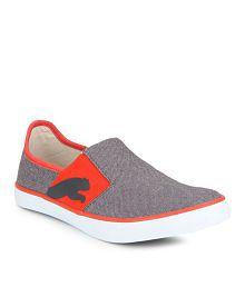 Puma Lazy Slip On Ii Dp Gray Casual Shoes