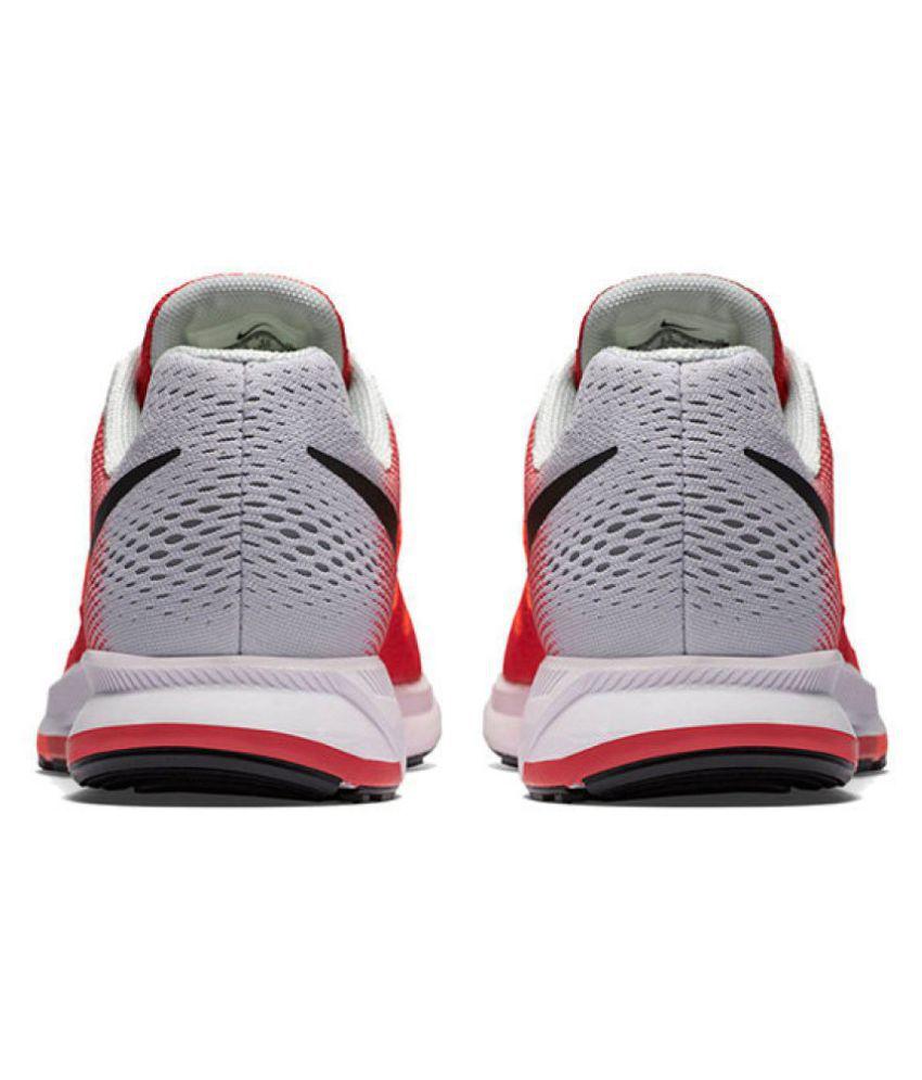low priced 6420b 48050 ... Nike Zoom Pegasus 33 Red Running Shoes ...