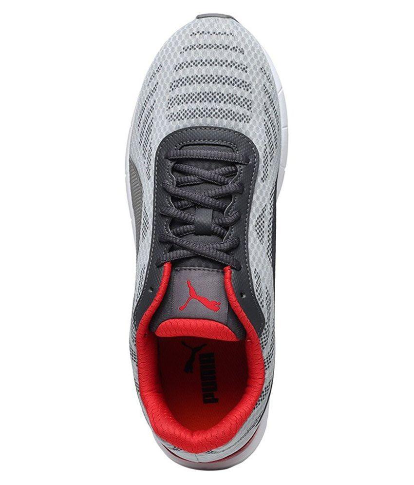 b19a1a0d1e2 Puma Meteor IDP Gray Running Shoes - Buy Puma Meteor IDP Gray ...