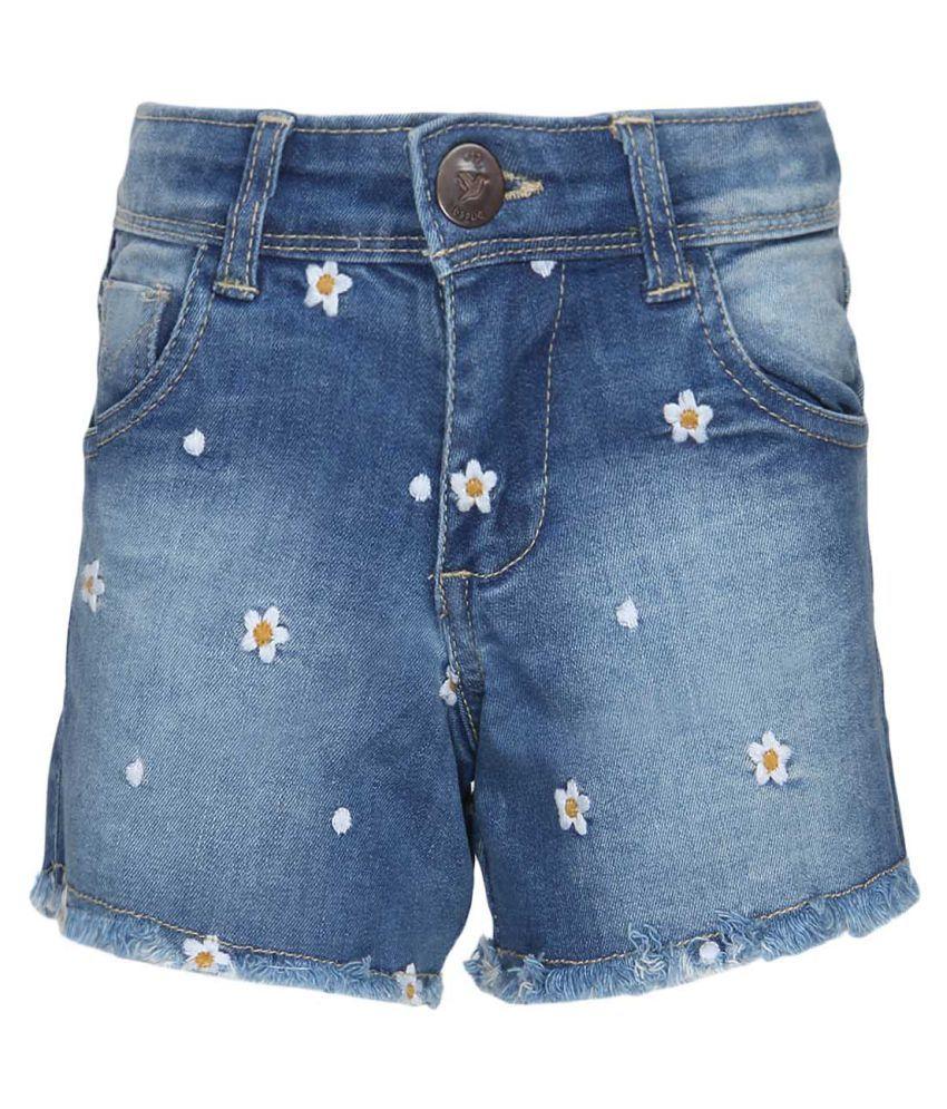 612 League Blue Hot Pants