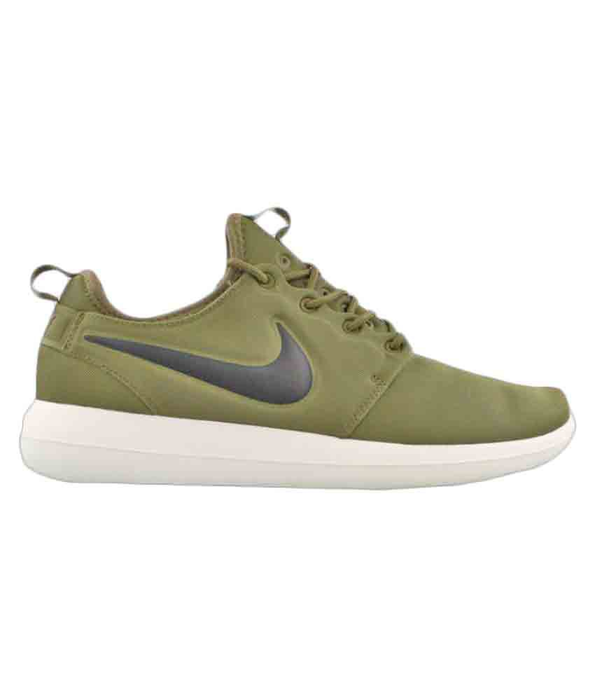 Nike Roshe Two Green Running Shoes ...