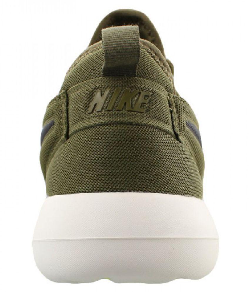 hot sale online 81679 5bbae Nike Roshe Two Green Running Shoes Nike Roshe Two Green Running Shoes ...