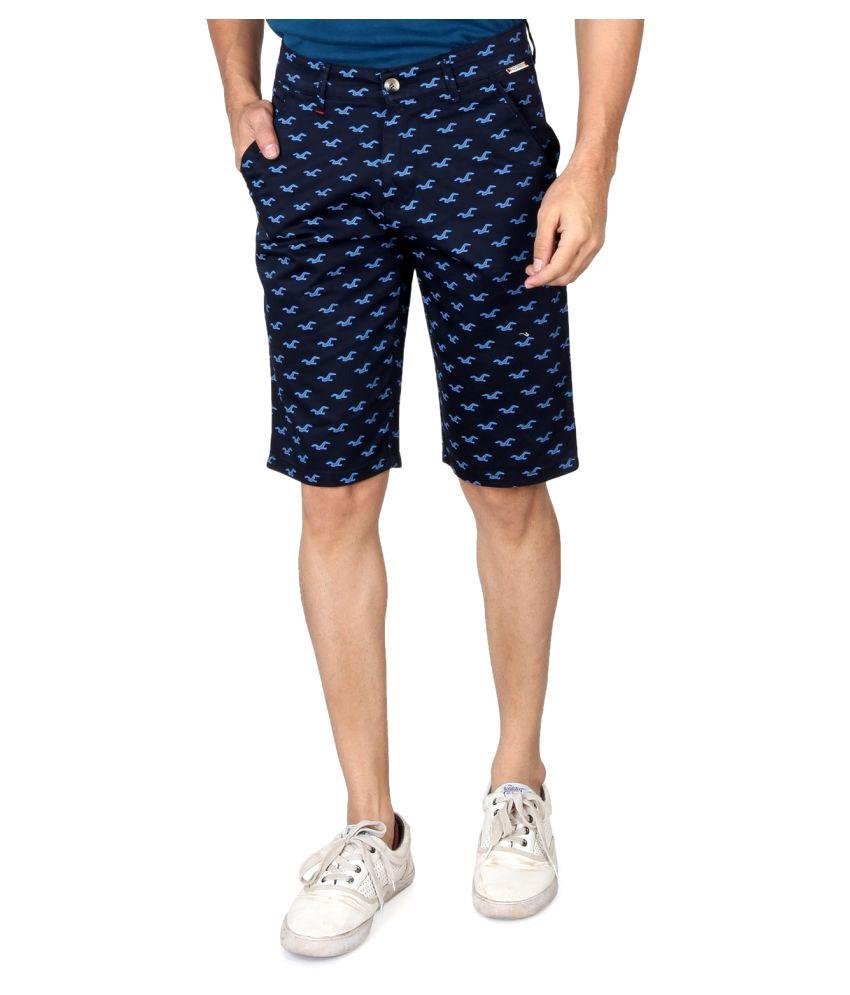 Kara69 Navy Shorts
